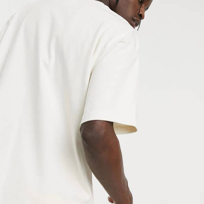 adidas Original Premium Co-ord T-Shirt Off-White Back