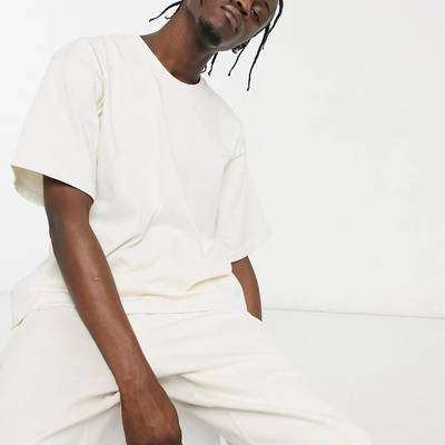 adidas Original Premium Co-ord T-Shirt Off-White Front