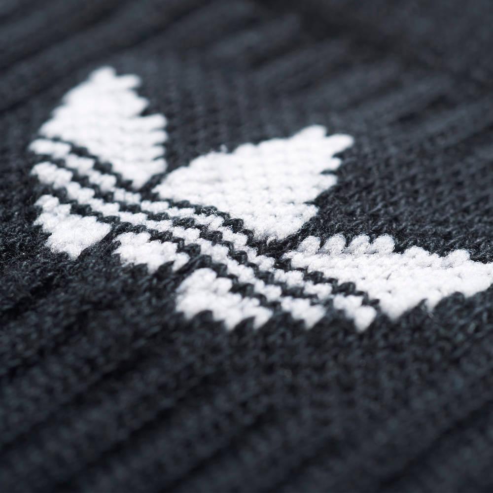 adidas Originals Crew Socks Black Logo