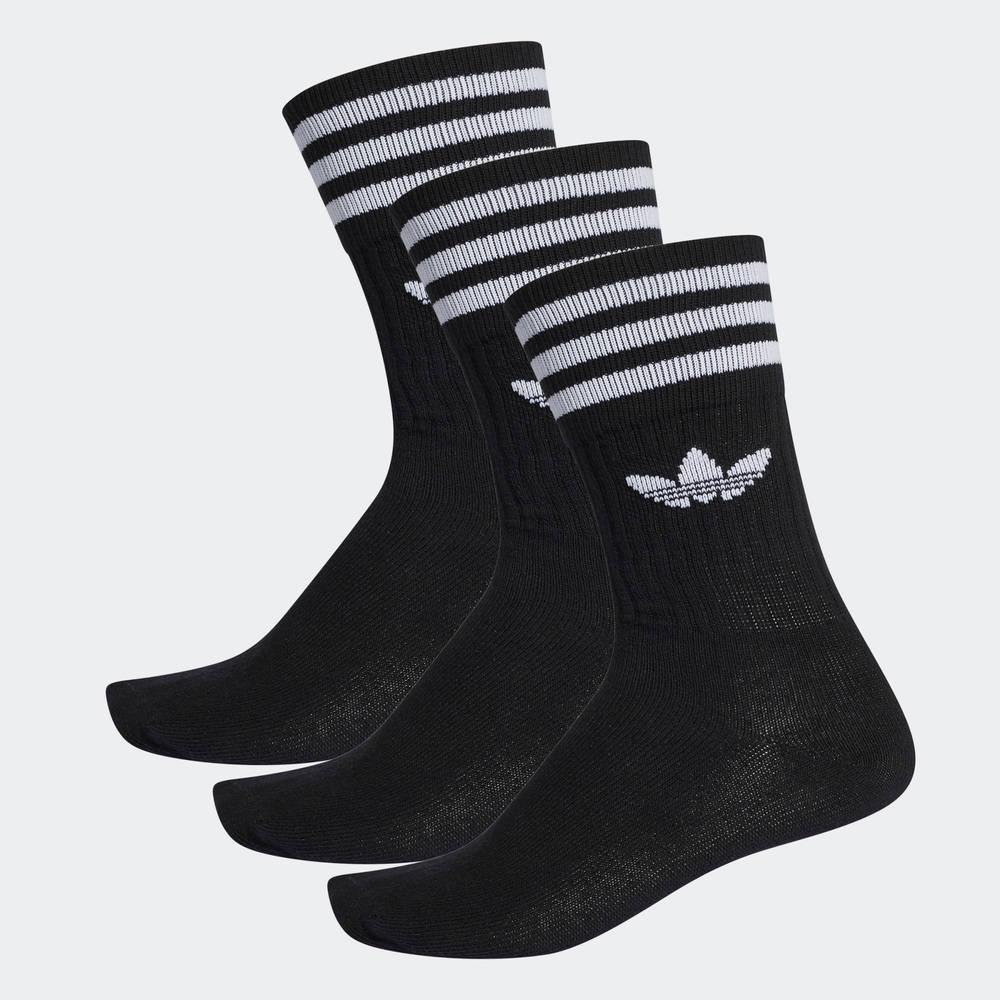 adidas Originals Crew Socks Black