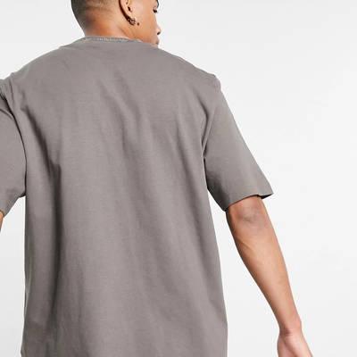adidas Originals Premium Sweats Overdyed Rib T-shirt Olive Back