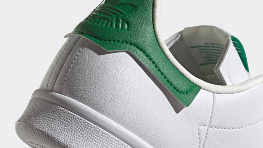 adidas Stan Smith Cloud White Green Closeup