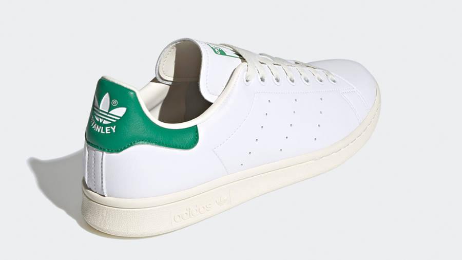 adidas Stan Smith Cream White Green Back