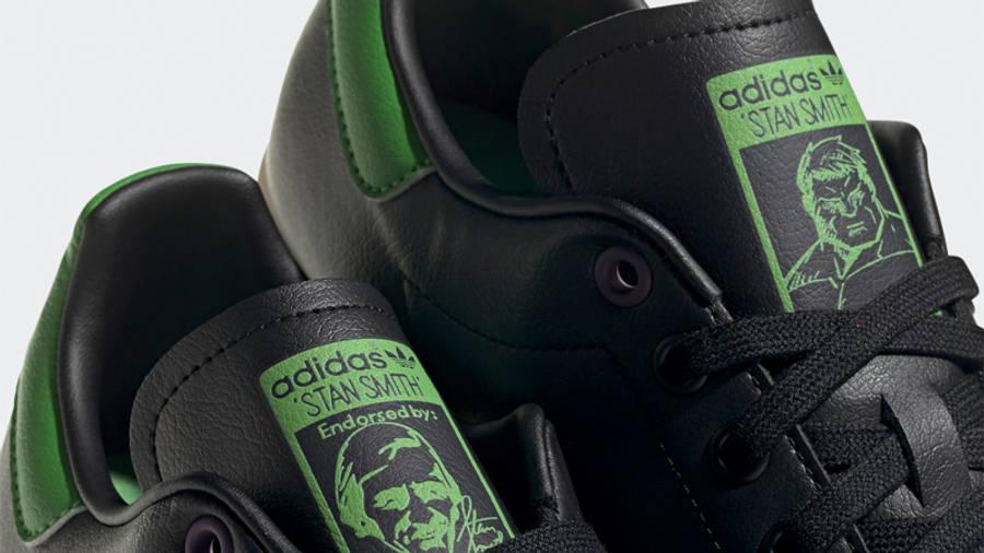 adidas Stan Smith Primegreen Hulk Closeup