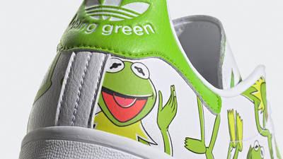 adidas Stan Smith Primegreen Kermit Closeup