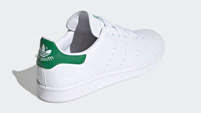 adidas Stan Smith Vegan Cloud White Green Back