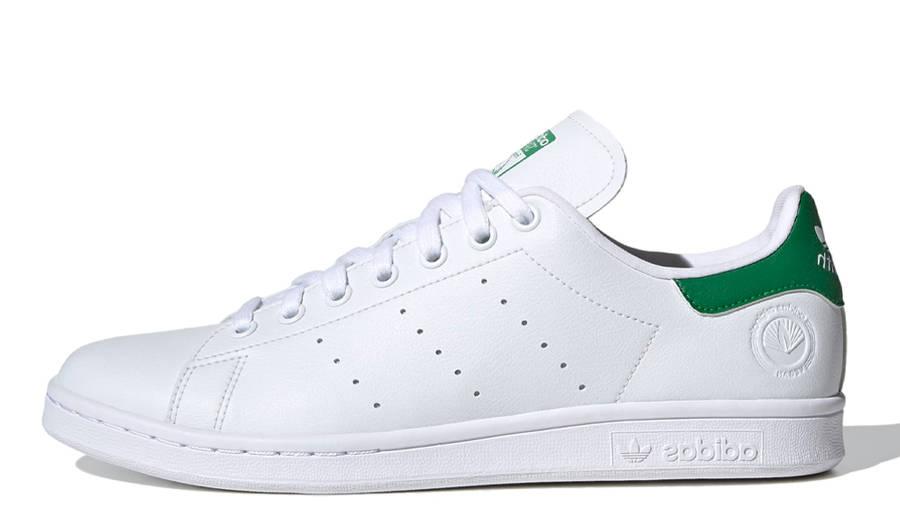 adidas Stan Smith Vegan Cloud White Green