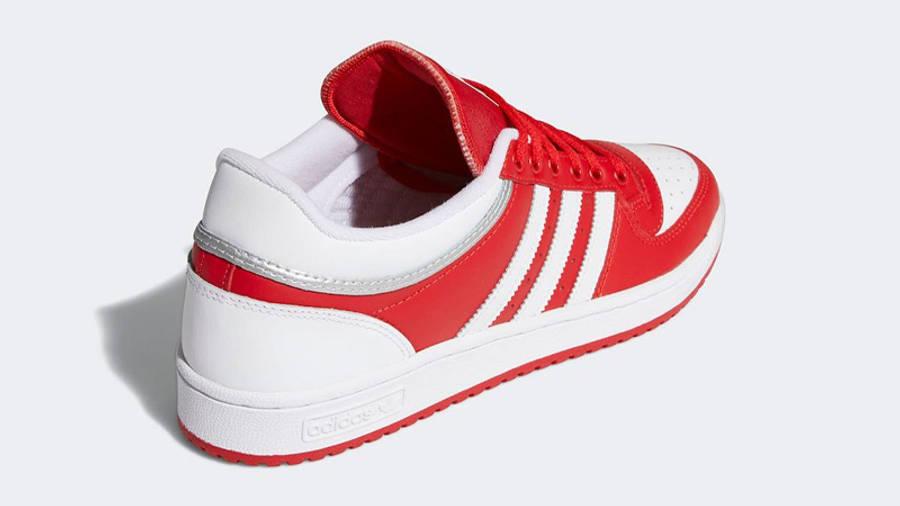 adidas Top Ten Low BB Scarlet Back