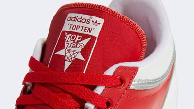 adidas Top Ten Low BB Scarlet Closeup