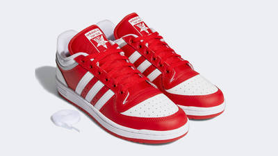 adidas Top Ten Low BB Scarlet Front