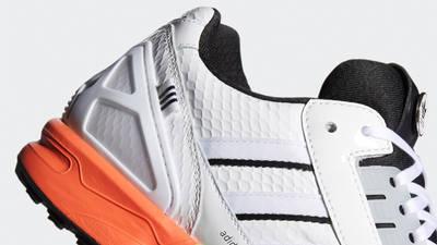adidas ZX 8000 Golf Cloud White Black Closeup