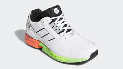adidas ZX 8000 Golf Cloud White Black Front