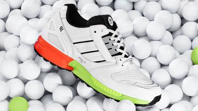 adidas ZX 8000 Golf Cloud White Black Lifestyle