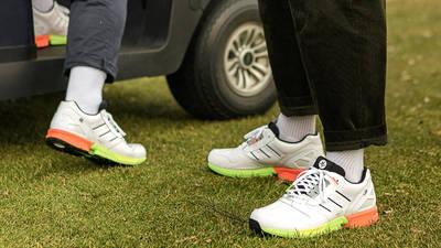 adidas ZX 8000 Golf Cloud White Black On Foot 1