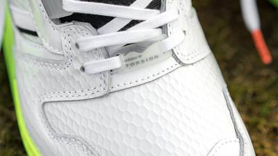 adidas ZX 8000 Golf Cloud White Black Top Closeup