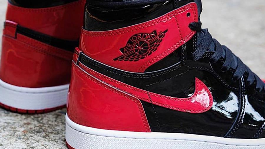 Air Jordan 1 High OG Patent Bred Back
