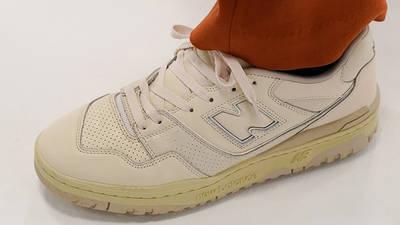 AURALEE x New Balance 550 On Foot