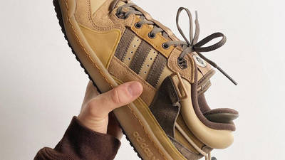 Bad Bunny x adidas Forum Low Brown In Hand