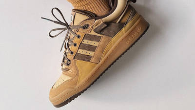 Bad Bunny x adidas Forum Low Brown On Foot
