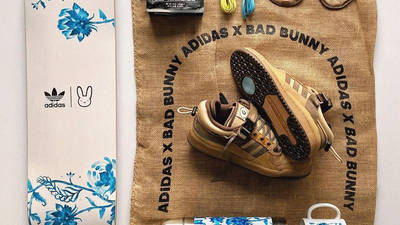Bad Bunny x adidas Forum Low Brown Pack
