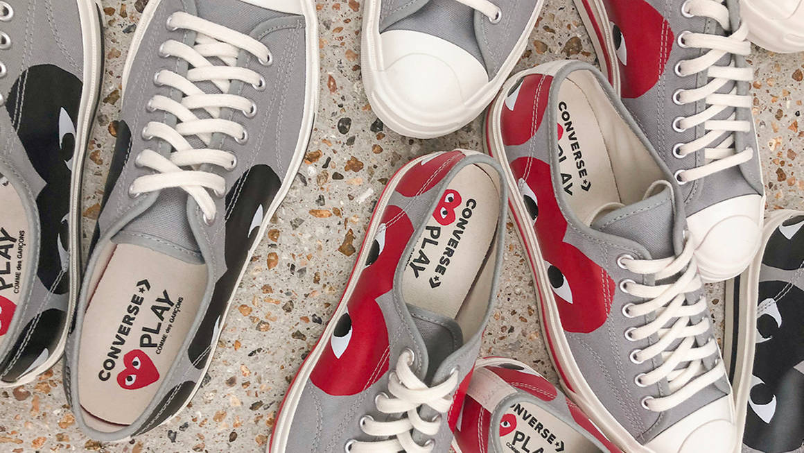 First Look at the COMME des GARÇONS x Converse Jack Purcell