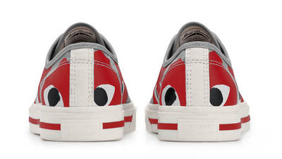 Comme des Garcons x Converse Jack Purcell Red Back
