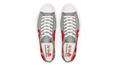 Comme des Garcons x Converse Jack Purcell Red Middle