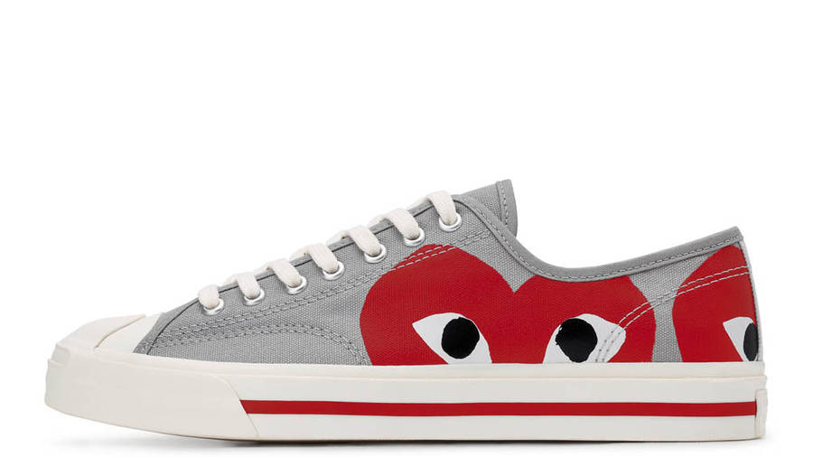 Comme des Garcons x Converse Jack Purcell Red