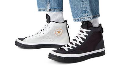 Converse Chuck 70 All Star Hi Black White on Foot