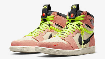 Jordan 1 High Switch Pink Volt CW6576-800 front