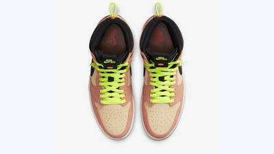 Jordan 1 High Switch Pink Volt CW6576-800 middle