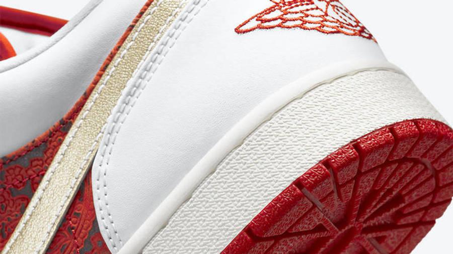 Jordan 1 Low Spades Closeup