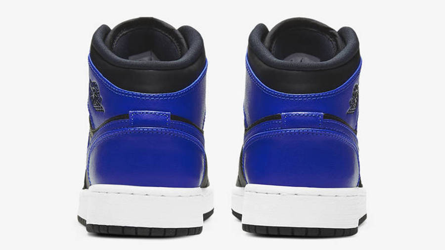 Jordan 1 Mid GS Hyper Royal Back