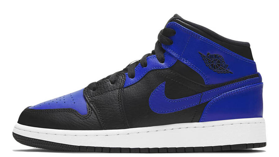 Jordan 1 Mid GS Hyper Royal