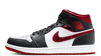 Jordan 1 Mid Metallic Red