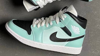 Jordan 1 Mid Mint Black First Look Top