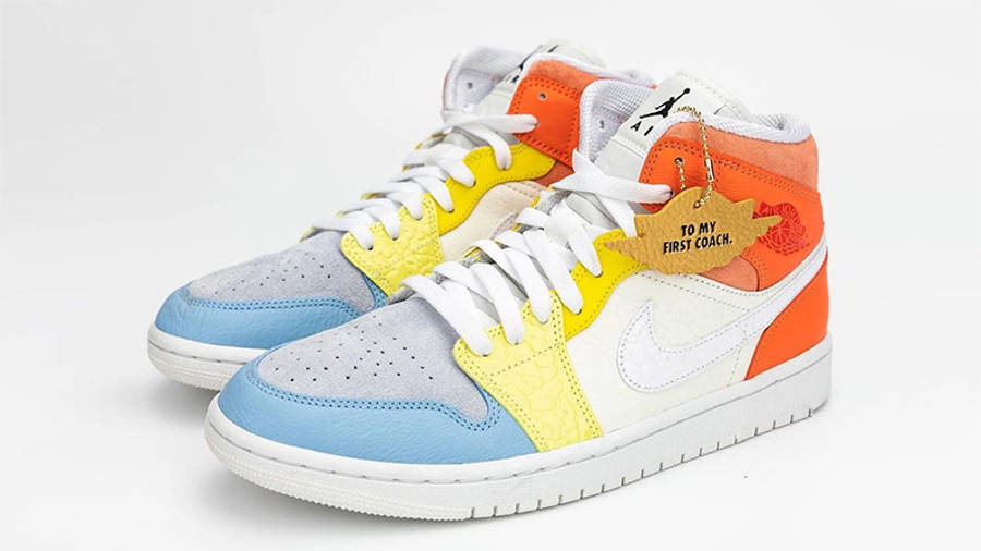 Jordan 1 Mid To My First Coach Side 1