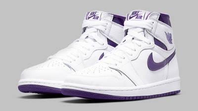 Jordan 1 Retro High OG Court Purple Side