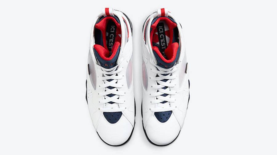 Jordan 7 PSG CZ0789-105 middle