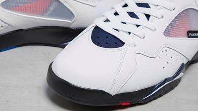 Jordan 7 PSG toebox