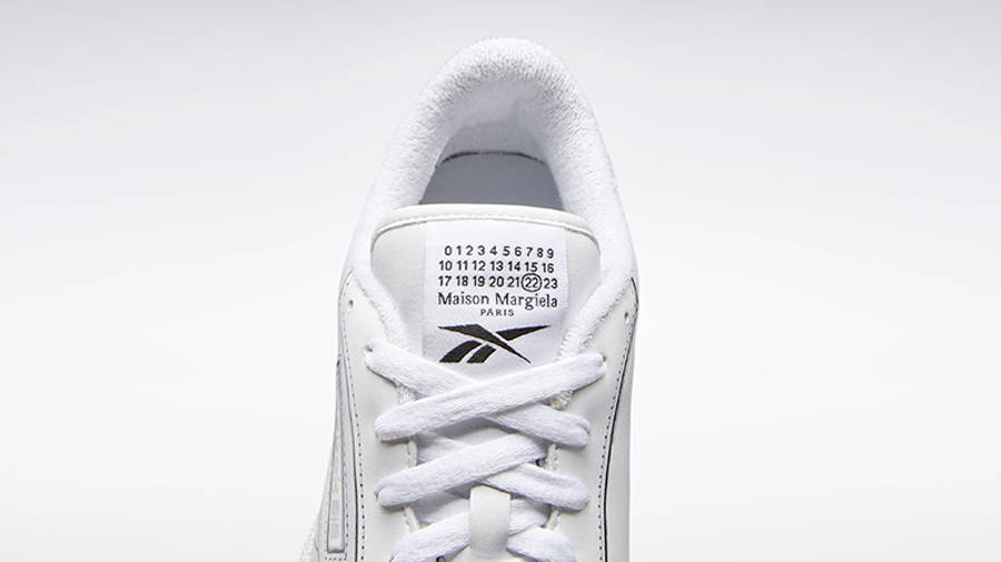 Maison Margiela x Reebok Club Tromp Leoil White Detail Top