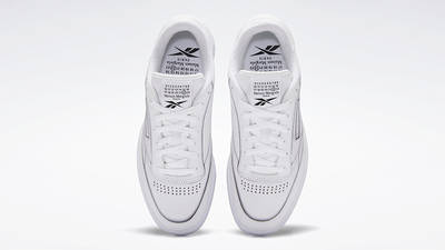 Maison Margiela x Reebok Club Tromp Leoil White Top