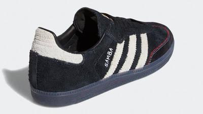 Maite Steenhoudt x adidas Samba ADV Core Black White Back