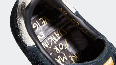 Maite Steenhoudt x adidas Samba ADV Core Black White Closeup