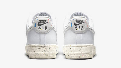 Nike Air Force 1 Low Splatter White CZ0339-100 back
