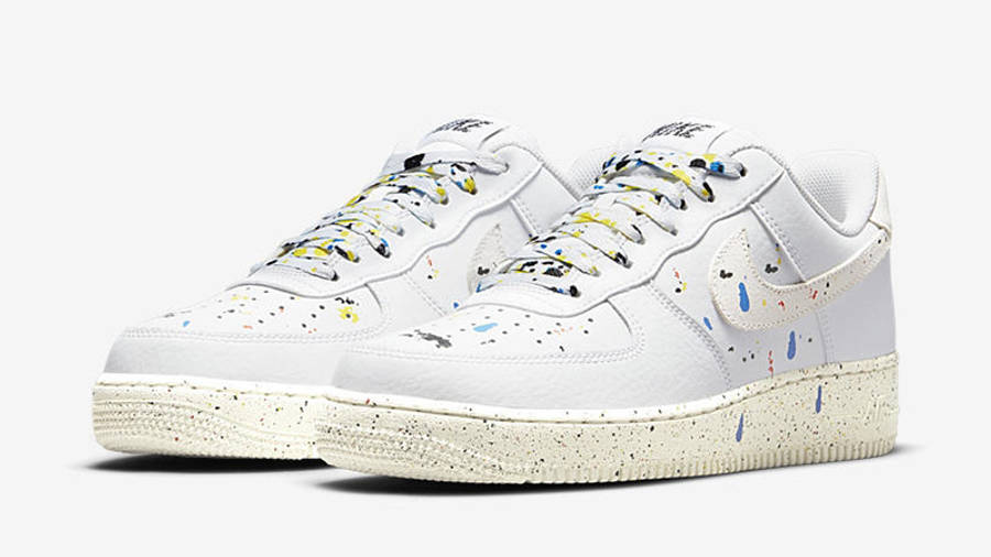 Nike Air Force 1 Low Splatter White CZ0339-100 front