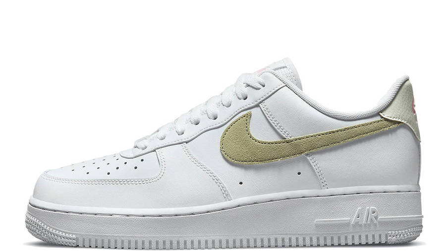 Nike Air Force 1 Low White Olive Pink | Where To Buy | DM2876-100 ...