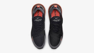 Nike Air Max 270 Black Grey Orange Top