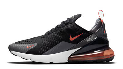 Nike Air Max 270 Black Grey Orange