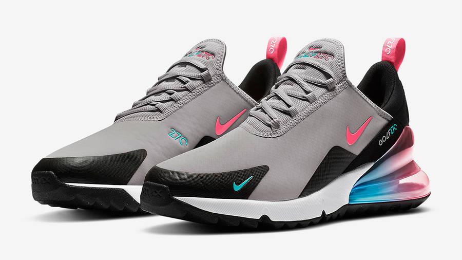 Nike Air Max 270 Golf Atmosphere Grey Side